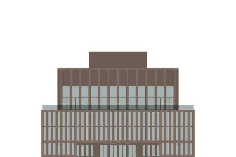 Leitsystem, Orientierungssystem, Stadthalle Reutlingen