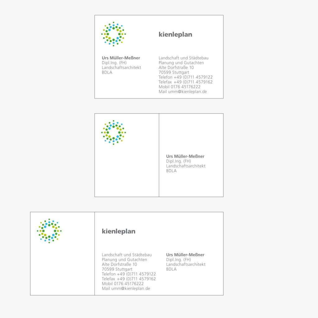 Visitenkarte Kienleplan Leinfelden-Echterdingen