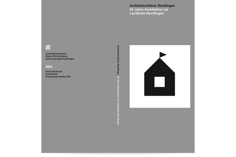Buchgestaltung Architekturführer Reutlingen