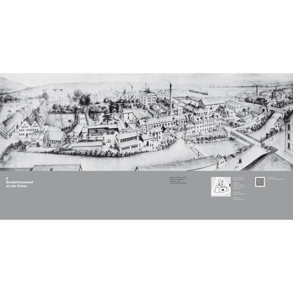 Erinnerungspfad Bruderhausareal Reutlingen