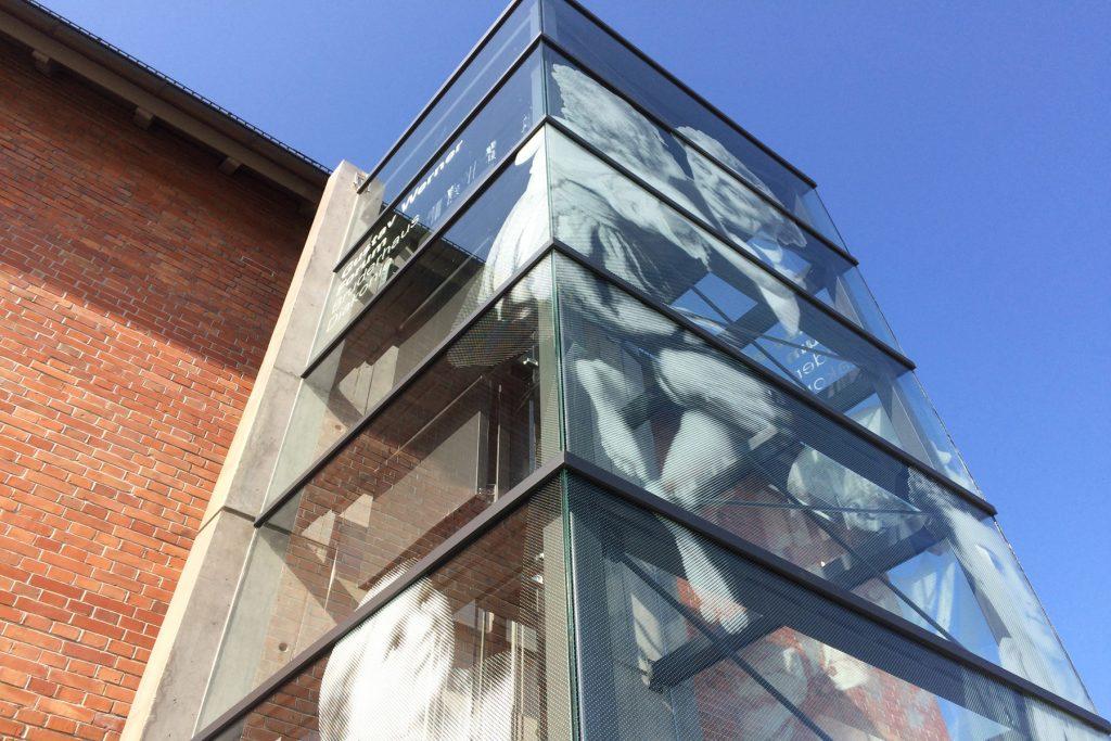 Glasgestaltung, Gustav Werner Forum, Reutlingen