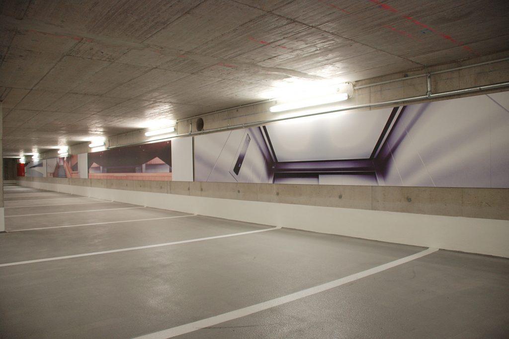 Tiefgarage Stadthalle Reutlingen