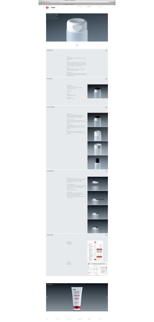 Homepage Tubex Rangendingen