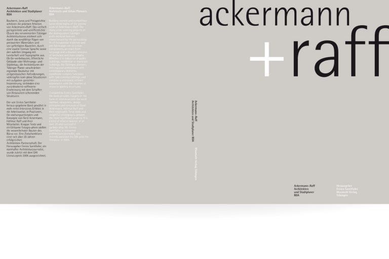 Buchgestaltung Ackermann und Raff