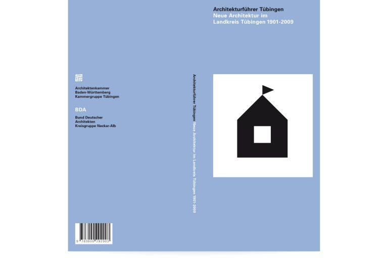 Buchgestaltung Architekturführer Tübingen