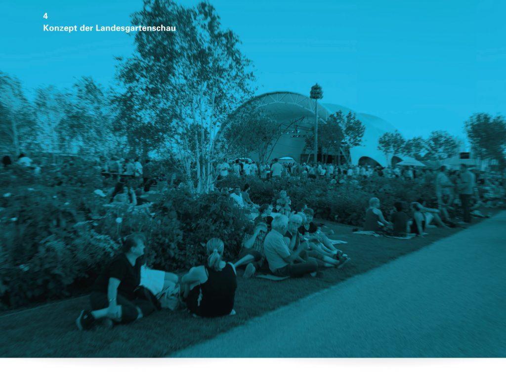 Broschüre Landesgartenschau Winnenden