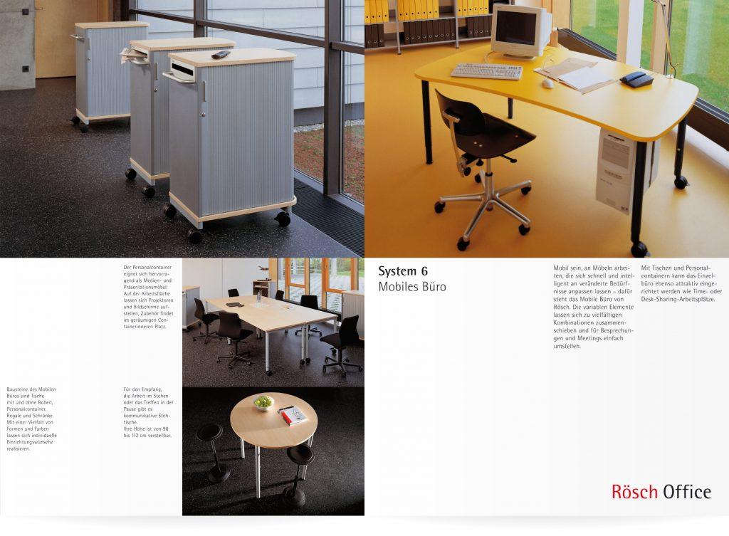 Prospekt Rösch Office Lorch