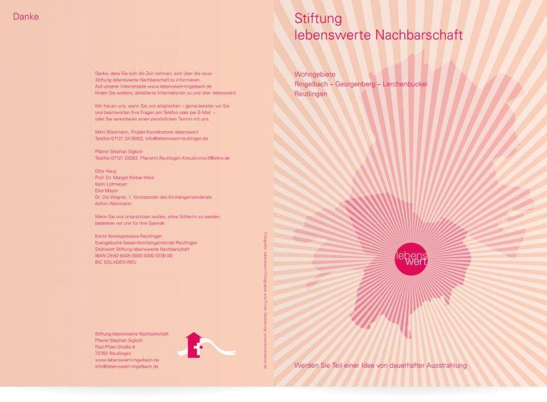 Broschüre Stiftung lebenswerte Nachbarschaft