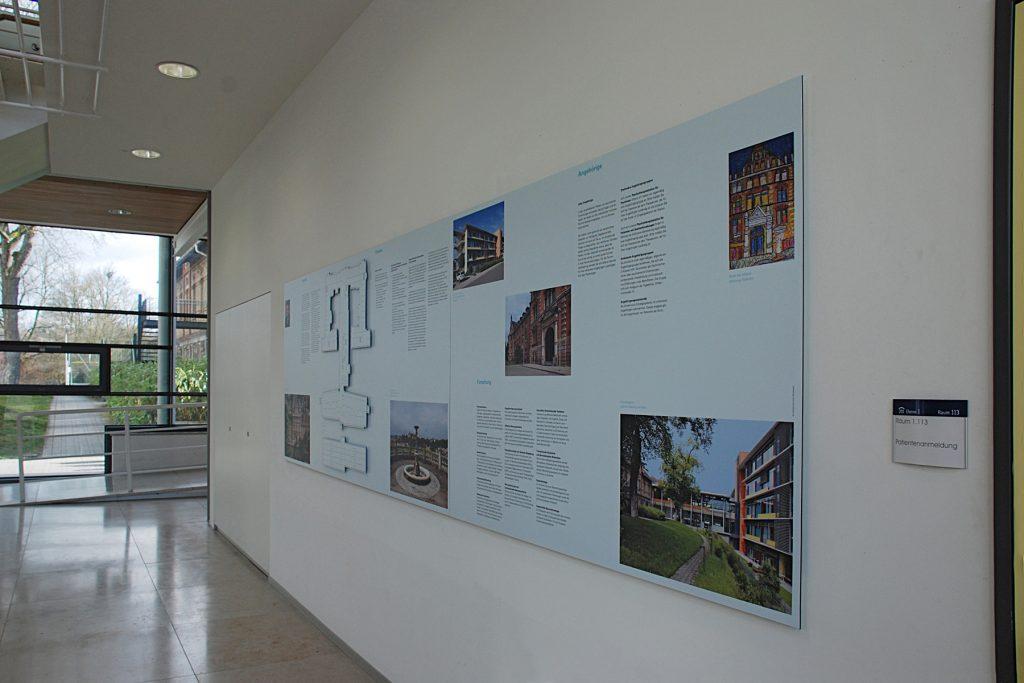 Informationstafel Psychiatrische Klinik Tübingen