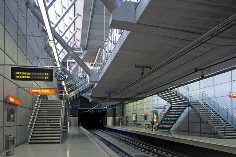 Leitsystem, Orientierungssystem, Metro Bilbao